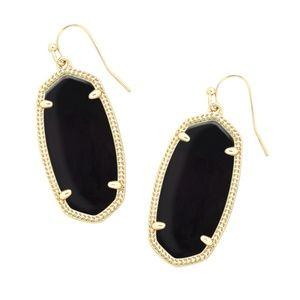 Kendra Scott Elle Earring in Black